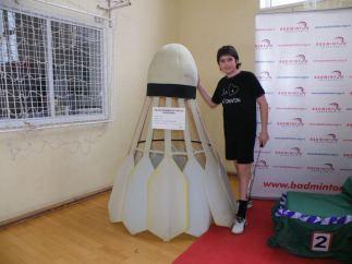 Najveca badminton loptica na Balkanu
