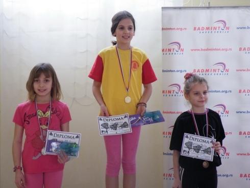 Osvajačice medalja - Devojčice U11