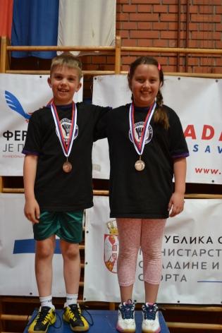 Osvajači medalja, Viktor Burjan i Anđela Vitman