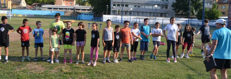 Učesnici 01. Atletskog Čoko turnira