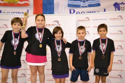 Osvajači medalja na Trofeju Beograda