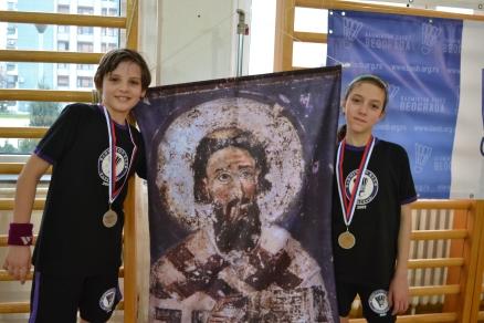 S. Perić (levo) i A. Rašović