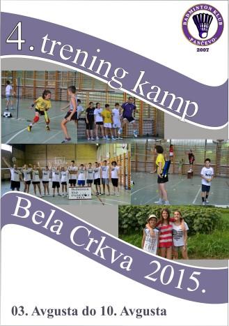 Bela Crkva trening kamp 2015