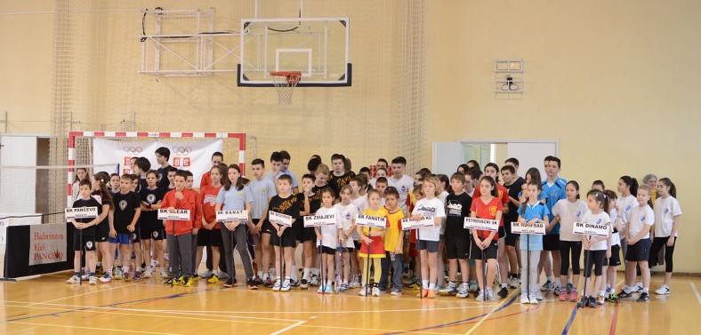 Učesnici na 5. Juniorskom Kupu u Pančevu