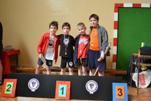 Osvajači medalja bela kategorija dečaci