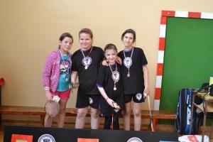 Osvajači medalja bela kategorija devojčice
