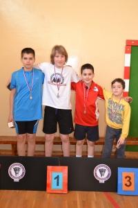 Osvajači medalja plava kategorija dečaci