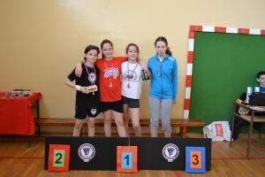 Osvajači medalja plava kategorija devojčice