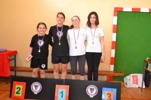 Osvajači medalja crvena kategorija devojčice