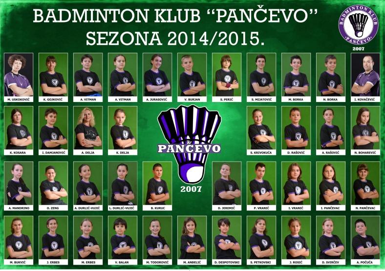 "Pano BK ""Pančevo""  za sezonu 2014/2015."