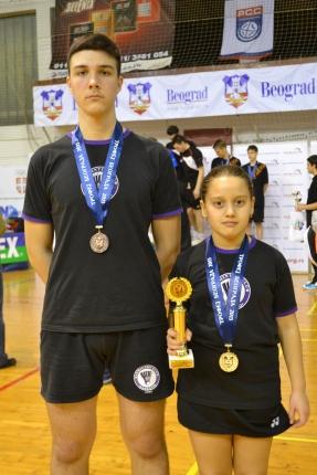 Osvajači medalja na Trofeju Beograda 2015.