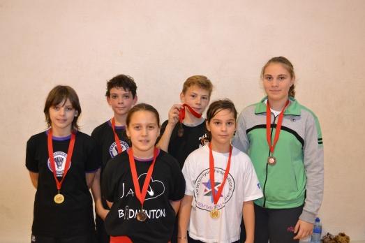 Osvajači medalja za BK